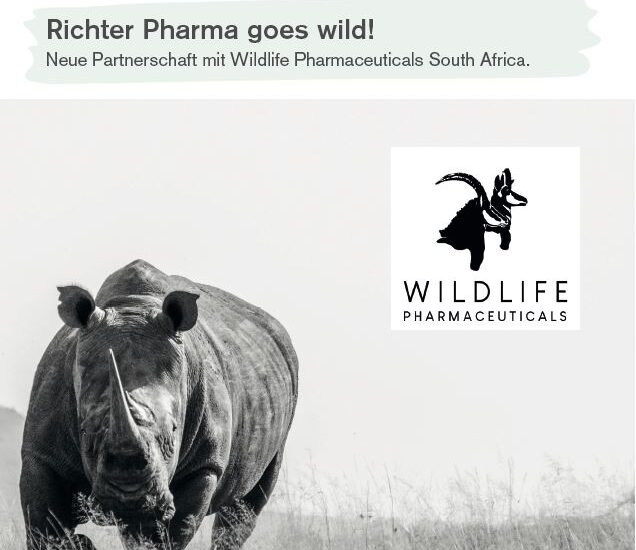 Richter Pharma goes wild!